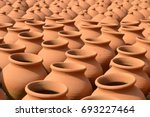 Making Clay Pot For Storing...