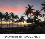 maui sunset | Shutterstock . vector #693227878