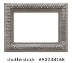 silver frame for paintings ... | Shutterstock . vector #693238168