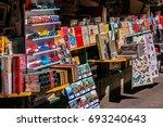 paris  france   april 10  2017  ...   Shutterstock . vector #693240643
