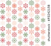 seamless vector pattern with... | Shutterstock .eps vector #693242158