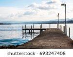 zurich lake | Shutterstock . vector #693247408