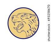 illustration of a scottish...   Shutterstock .eps vector #693258670
