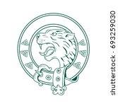illustration of a scottish...   Shutterstock .eps vector #693259030