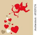 sweet cupid   greetings card...