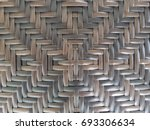 Wood Basketry Background