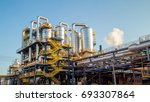 sugar factory industry line... | Shutterstock . vector #693307864