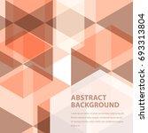 minimal design  creative... | Shutterstock .eps vector #693313804