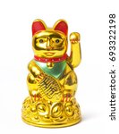 fortune chinese cat | Shutterstock . vector #693322198