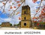 archaeological site of panam ...   Shutterstock . vector #693329494