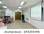 universiti kebangsaan malaysia  ... | Shutterstock . vector #693355498