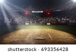 professional baseball grand... | Shutterstock . vector #693356428