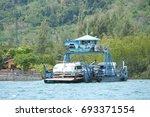 krabi  thailand   march 11 2014 ...   Shutterstock . vector #693371554