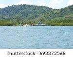 krabi  thailand   march 11 2014 ...   Shutterstock . vector #693372568