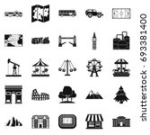 community icons set. simple set ... | Shutterstock .eps vector #693381400