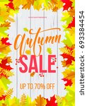 Autumn Sale Poster Or Banner...