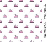 pincushion pattern in cartoon... | Shutterstock .eps vector #693390166