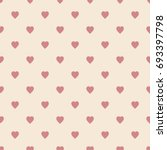 hearts pattern the background... | Shutterstock .eps vector #693397798