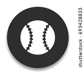 baseball icon | Shutterstock .eps vector #693428833