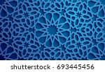 islamic ornament vector  ... | Shutterstock .eps vector #693445456