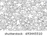 stars cartoon doodle outline...