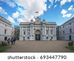 london  england aug 9  2017  ... | Shutterstock . vector #693447790