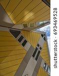 rotterdam  netherlands   august ... | Shutterstock . vector #693469528