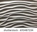 3d texture on the wall. | Shutterstock . vector #693487234