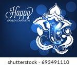 vector illustration of a banner ... | Shutterstock .eps vector #693491110