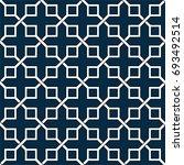 seamless modern stripped... | Shutterstock .eps vector #693492514