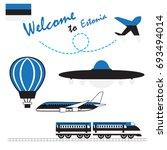 estonia flag  estonia  travel...