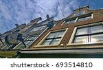 dutch houses | Shutterstock . vector #693514810