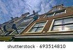 dutch houses | Shutterstock . vector #693514810