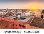 panoramic view City of Badajoz