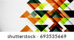 triangle pattern design... | Shutterstock .eps vector #693535669