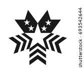 star vector logo. united states ... | Shutterstock .eps vector #693542644