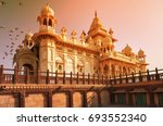 the jaswant thada is a cenotaph ... | Shutterstock . vector #693552340