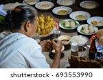 wedding in thailand | Shutterstock . vector #693553990