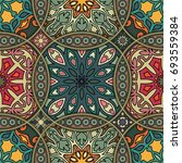 colorful vintage seamless...   Shutterstock .eps vector #693559384