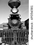 Old Steam Engine In Old Tucson...