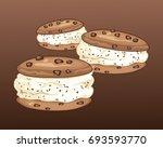 an illustration of three...   Shutterstock . vector #693593770