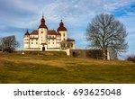 Lacko Castle At Vanern Lake In...