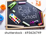 back to school | Shutterstock . vector #693626749