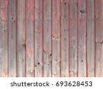old dark red wood | Shutterstock . vector #693628453