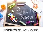 school accessories   Shutterstock . vector #693629104
