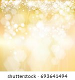 vector sparkle  golden... | Shutterstock .eps vector #693641494