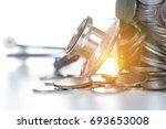 money saving  financial concept | Shutterstock . vector #693653008