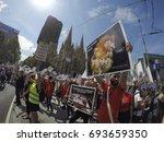 melbourne  australia  january...   Shutterstock . vector #693659350