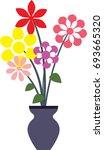 flower | Shutterstock .eps vector #693665320