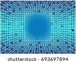 bright matrix vector background ... | Shutterstock .eps vector #693697894